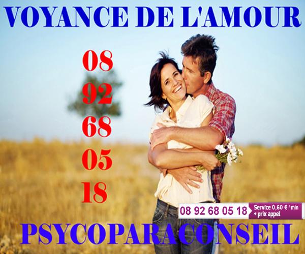 N°1 CABINET VOYANCE DU COEUR 0892 68 05 18 (0,60€)